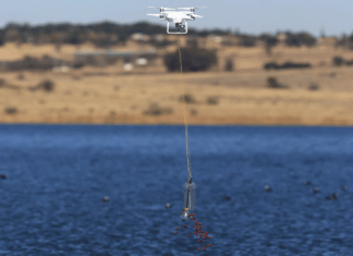 best drones for fishing