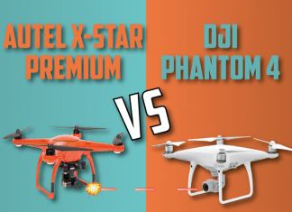 Autel X Star Premiumm VS DJI Phantom-4