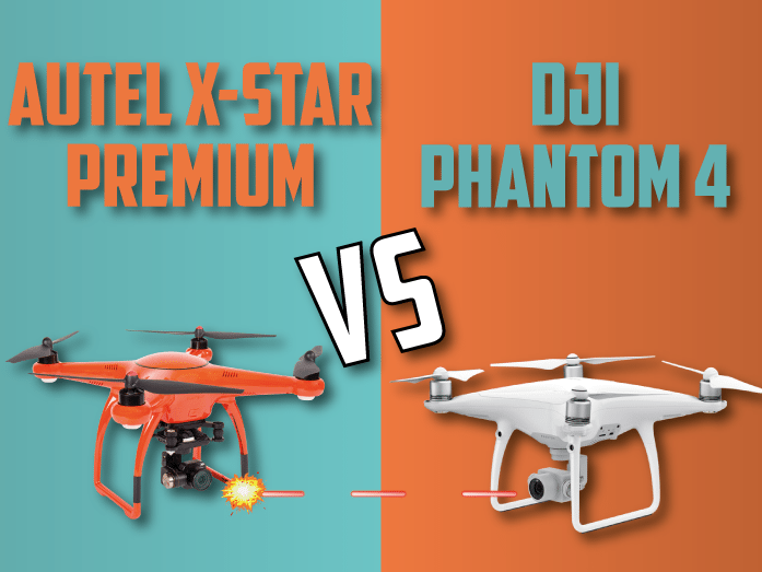 Autel X Star Premiumm VS DJI Phantom-4