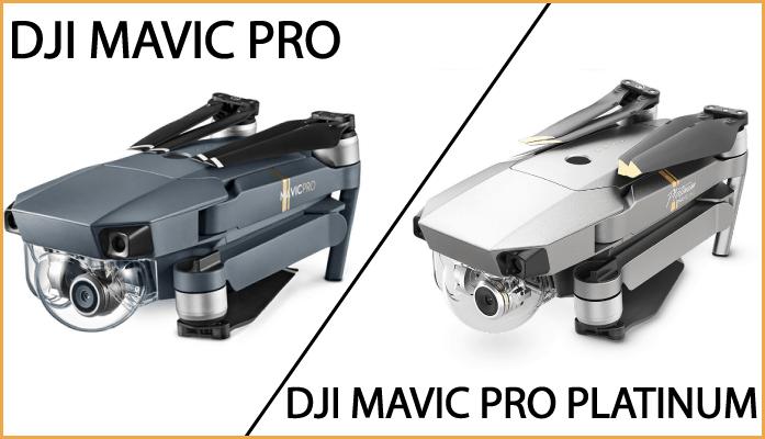 Dji Mavic Pro Vs Platinum