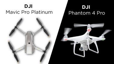 DJI Mavic Pro Platinum VS DJI Phantom 4 Pro: Comparison