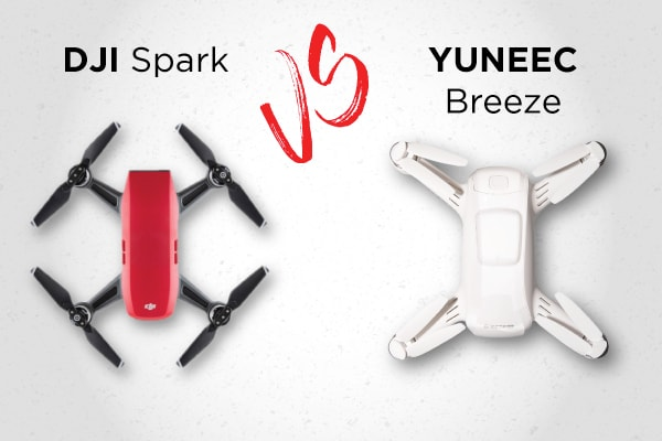 135b57865b8 DJI Spark vs Yuneec Breeze: The ULTIMATE Comparison