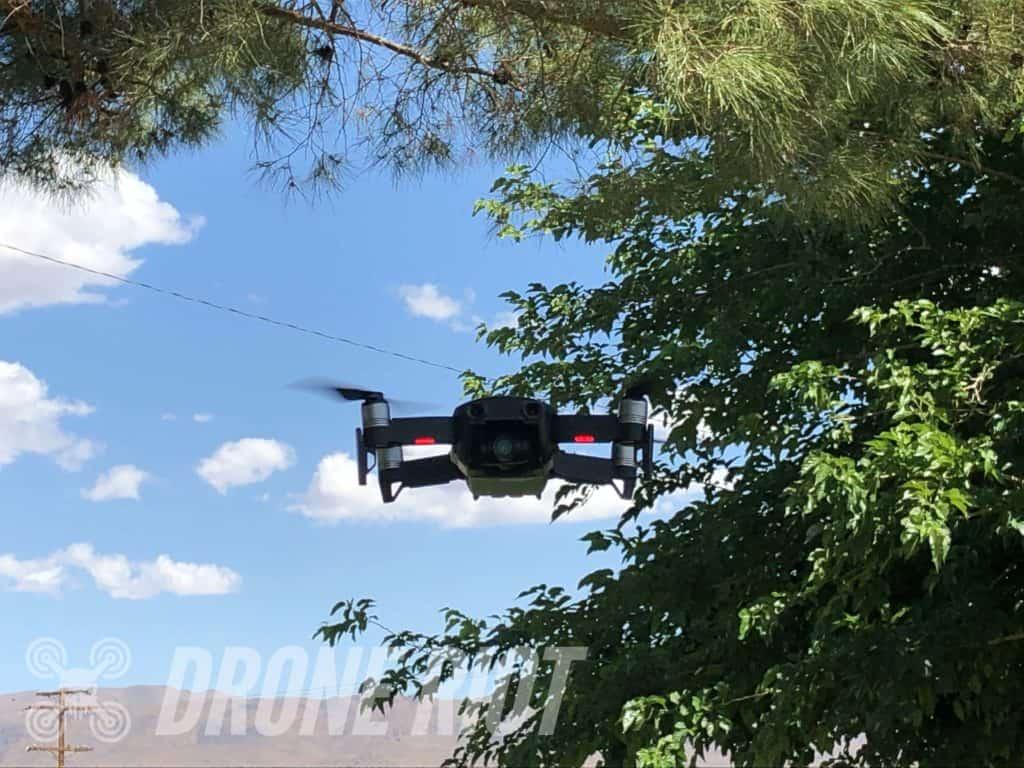 Flying DJI Drone