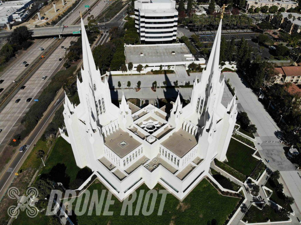 Church Drone Photo