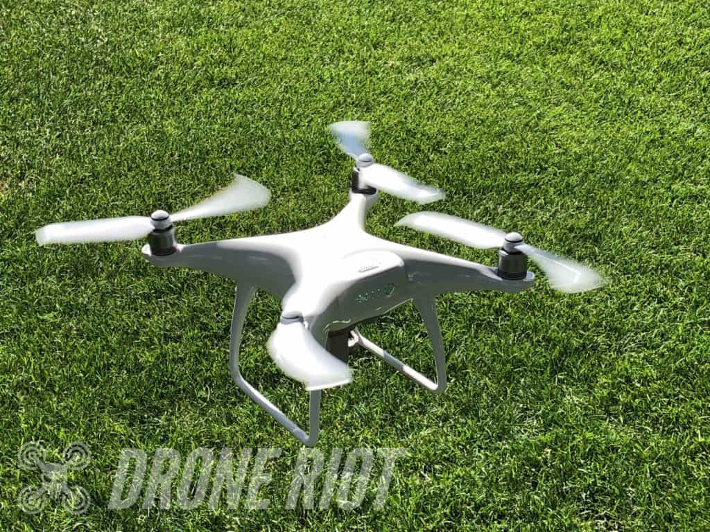 drone takeoff